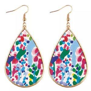 NWT • Boutique Statement Teardrop Earrings